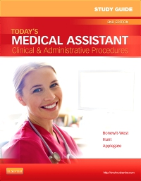 cover image - Study Guide for Today's Medical Assistant - Elsevier eBook on VitalSource,2nd Edition
