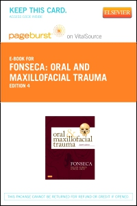 cover image - Oral and Maxillofacial Trauma - Elsevier eBook on VitalSource (Retail Access Card),4th Edition