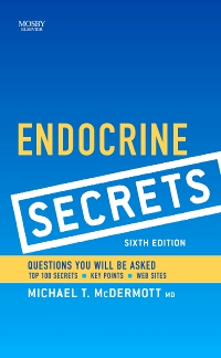cover image - Endocrine Secrets,6th Edition