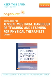 cover image - Handbook of Teaching and Learning for Physical Therapists - Elsevier eBook on VitalSource (Retail Access Card),3rd Edition
