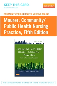 cover image - Community/Public Health Nursing Online for Community/Public Health Nursing Practice (User Guide and Access Code),5th Edition