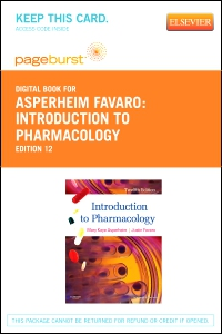 cover image - Introduction to Pharmacology - Elsevier eBook on VitalSource (Retail Access Card),12th Edition