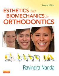 cover image - Esthetics and Biomechanics in Orthodontics,2nd Edition
