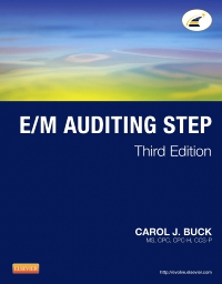 cover image - E/M Auditing Step,3rd Edition