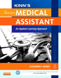 cover image - Evolve Resources for Kinn's The Administrative Medical Assistant,8th Edition
