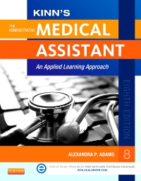 cover image - Medical Assting Online for Kinn's The Administrative Medical Assistant,8th Edition