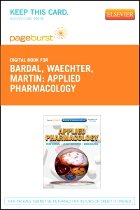 cover image - Applied Pharmacology - Elsevier eBook on VitalSource (Retail Access Card)