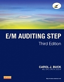 cover image - Evolve Resources for E/M Auditing Step,3rd Edition