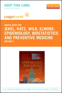 cover image - Epidemiology, Biostatistics and Preventive Medicine - Elsevier eBook on VitalSource (Retail Access Card),3rd Edition