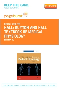 cover image - Guyton and Hall Textbook of Medical Physiology - Elsevier eBook on VitalSource (Retail Access Card),12th Edition