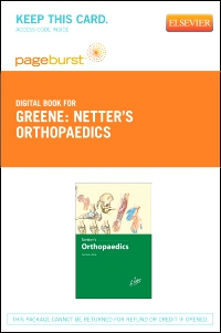 cover image - Netter's Orthopaedics - Elsevier eBook on VitalSource (Retail Access Card)
