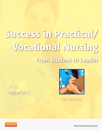 cover image - Success in Practical/Vocational Nursing - Elsevier eBook on VitalSource,7th Edition
