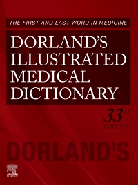 cover image - Dorland's Illustrated Medical Dictionary,33rd Edition