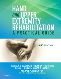 cover image - Hand and Upper Extremity Rehabilitation,4th Edition