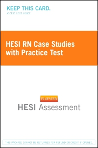 cover image - HESI RN Case Studies with Practice Test - Next Generation Version