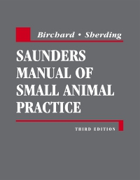 cover image - Saunders Manual of Small Animal Practice - Elsevier eBook on VitalSource,3rd Edition