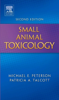 cover image - Small Animal Toxicology - Elsevier eBook on VitalSource,2nd Edition