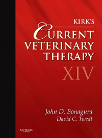 cover image - Kirk's Current Veterinary Therapy XIV - Elsevier eBook on VitalSource,14th Edition