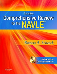 cover image - Saunders Comprehensive Review of the NAVLE - Elsevier eBook on VitalSource