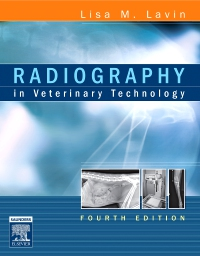 cover image - Radiography in Veterinary Technology - Elsevier eBook on VitalSource,4th Edition