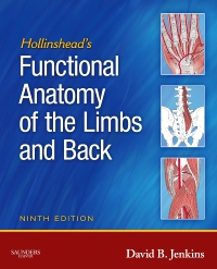 cover image - Hollinshead's Functional Anatomy of the Limbs and Back - Elsevier eBook on VitalSource,9th Edition