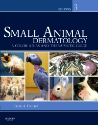 cover image - Small Animal Dermatology - Elsevier eBook on VitalSource,3rd Edition