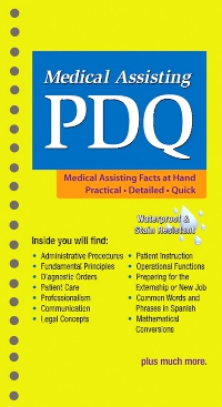 cover image - Medical Assisting PDQ - Elsevier eBook on VitalSource