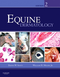 cover image - Equine Dermatology - Elsevier eBook on VitalSource,2nd Edition