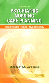 cover image - Manual of Psychiatric Nursing Care Planning - Elsevier eBook on VitalSource,4th Edition
