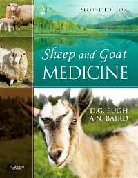 cover image - Sheep & Goat Medicine - Elsevier eBook on VitalSource,2nd Edition