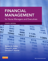 cover image - Financial Management for Nurse Managers and Executives - Elsevier eBook on VitalSource,4th Edition