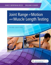 cover image - Joint Range of Motion and Muscle Length Testing,3rd Edition