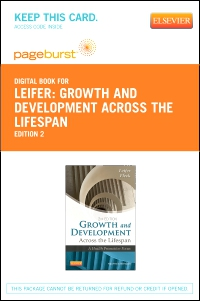 cover image - Growth and Development Across the Lifespan - Elsevier eBook on VitalSource (Retail Access Card),2nd Edition