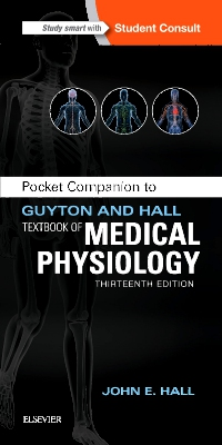cover image - Pocket Companion to Guyton and Hall Textbook of Medical Physiology,13th Edition