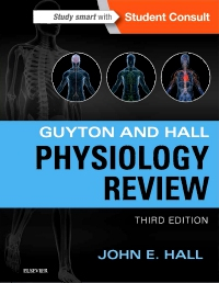 cover image - Guyton & Hall Physiology Review,3rd Edition