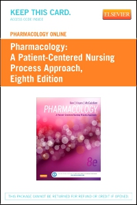cover image - Pharmacology Online for Pharmacology (User Guide and Access Code),8th Edition