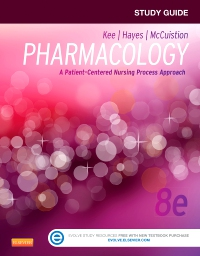 cover image - Study Guide for Pharmacology - Elsevier eBook on VitalSource,8th Edition