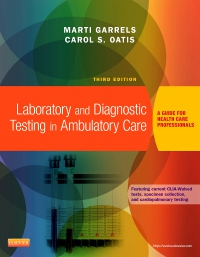 cover image - Laboratory and Diagnostic Testing in Ambulatory Care,3rd Edition