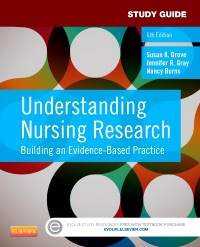 cover image - Study Guide for Understanding Nursing Research,6th Edition