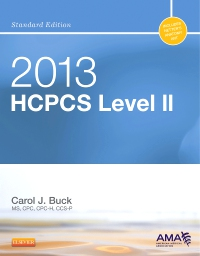 cover image - 2013 HCPCS Level II Standard Edition - Elsevier eBook on VitalSource