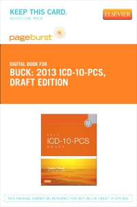 cover image - 2013 ICD-10-PCS Draft Edition - Elsevier eBook on VitalSource (Retail Access Card)