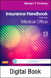 cover image - Insurance Handbook for the Medical Office - Elsevier eBook on VitalSource,13th Edition