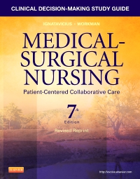 cover image - Clinical Decision-Making Study Guide for Medical-Surgical Nursing - Revised Reprint - Elsevier eBook on VitalSource,7th Edition