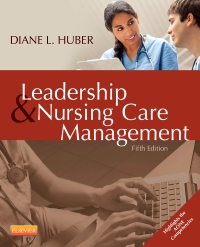 cover image - Evolve Resources for Leadership and Nursing Care Management,5th Edition