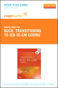 cover image - Transitioning to ICD-10-CM Coding - Elsevier eBook on VitalSource (Retail Access Card)