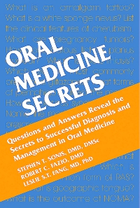 cover image - Oral Medicine Secrets