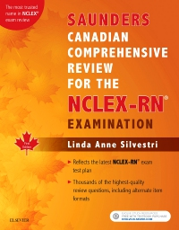 cover image - Saunders Canadian Comprehensive Review for the NCLEX-RN