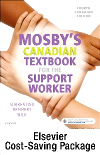 cover image - Mosby's Canadian Textbook for the Support Worker - Text and Workbook Package,4th Edition