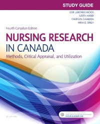 cover image - Study Guide for Nursing Research in Canada,4th Edition