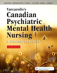 cover image - Evolve Resources for Varcarolis's Canadian Psychiatric Mental Health Nursing, Second Canadian Edition,2nd Edition